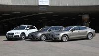 Audi A6 Avant, A7, Q5, Seitenansicht