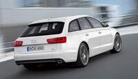 Audi A6 Avant, Heck, Rückansicht