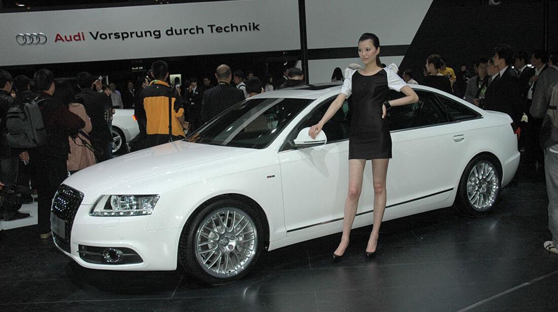 Audi A6 Langversion auf der Auto China 2010