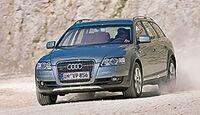 Audi A6 allroad 2.7 TDI, Frontansicht
