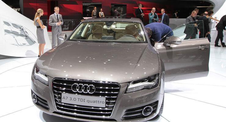 Audi A7 Paris 2010
