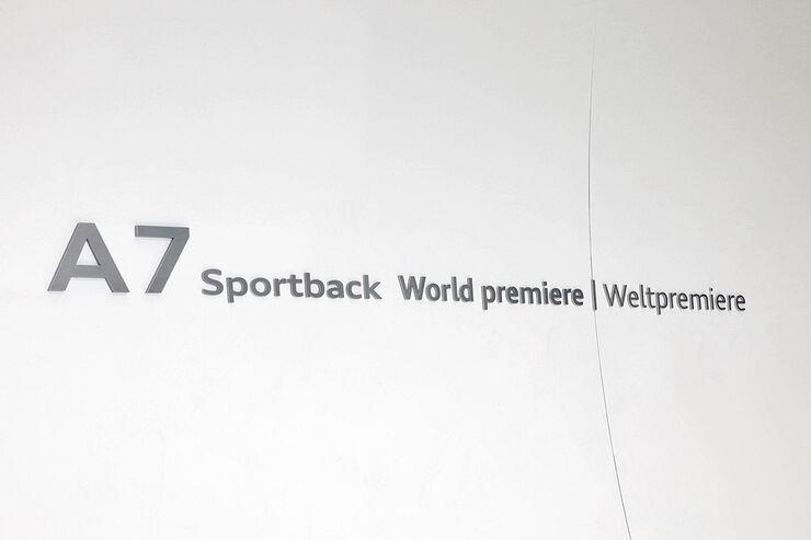 Audi A7 Premiere Pinakothek München