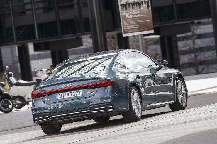 Audi A7 Sportback 50 Tdi Im Test Auto Motor Und Sport