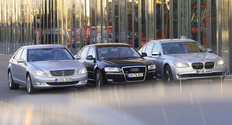 Bmw 7er Audi A8 Mercedes S Klasse Die Neue Bmw Luxuslimousine Im
