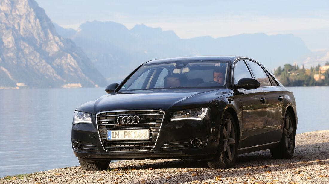 Audi A8 3.0 TDI Quattro, Frontansicht