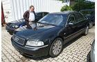 Audi A8 3.3 TDI, Seitenansicht