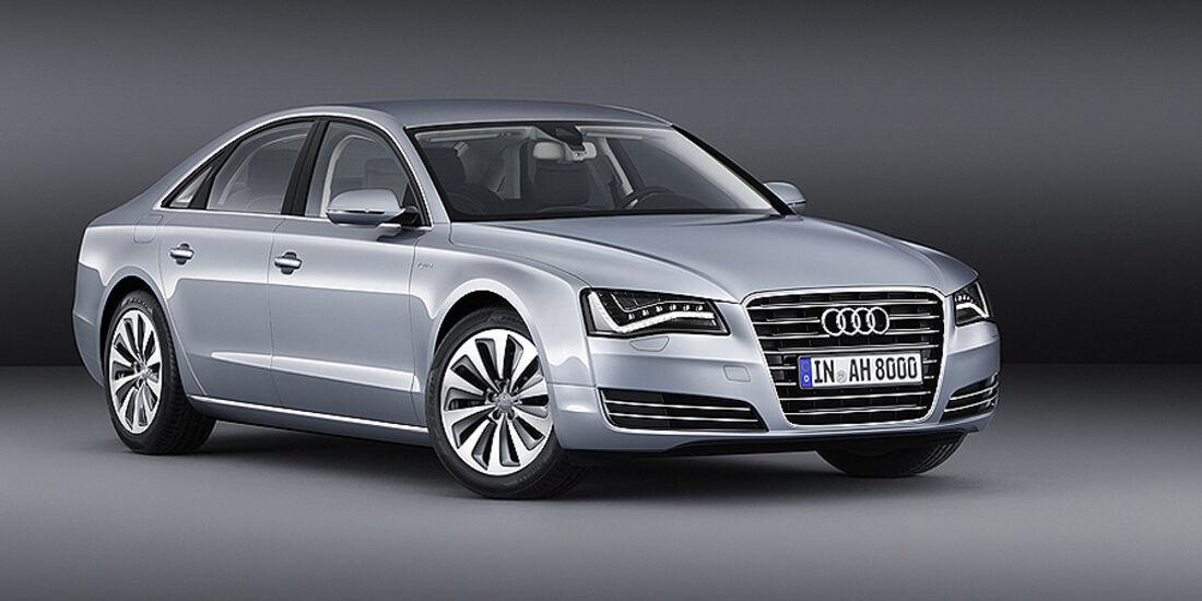 Audi A8 Hybrid, TFSI, Motor