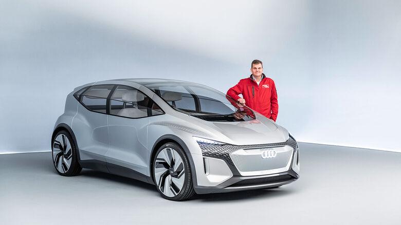 Audi AI:ME Concept Car Shanghai 2019
