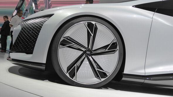 Audi Aicon - Felgen - IAA 2017