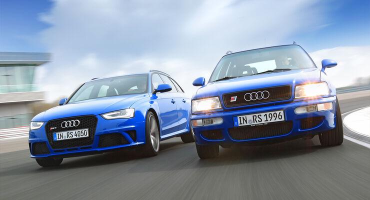 Audi Avant RS2, Audi RS4 Avant, Frontansicht