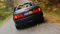 Audi Cabriolet 2.0E, Innenraum
