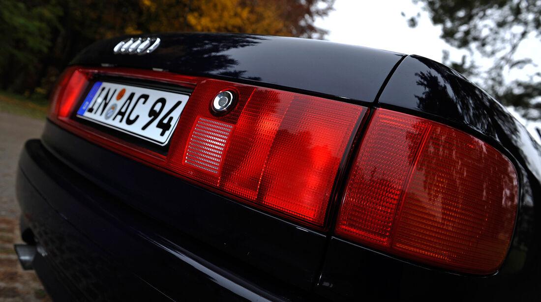 Audi Cabriolet 2.0E, Rückleuchten
