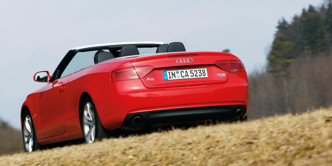 Audi Cabriolet 3.0 TFSI Quattro, Heck