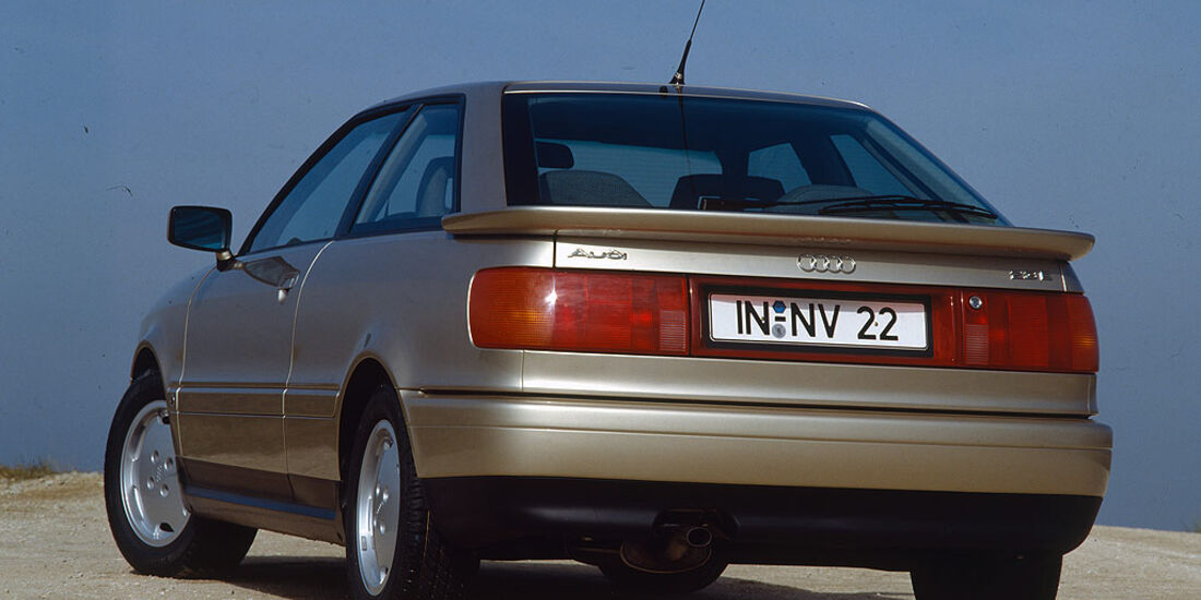Audi Coupé von 1989