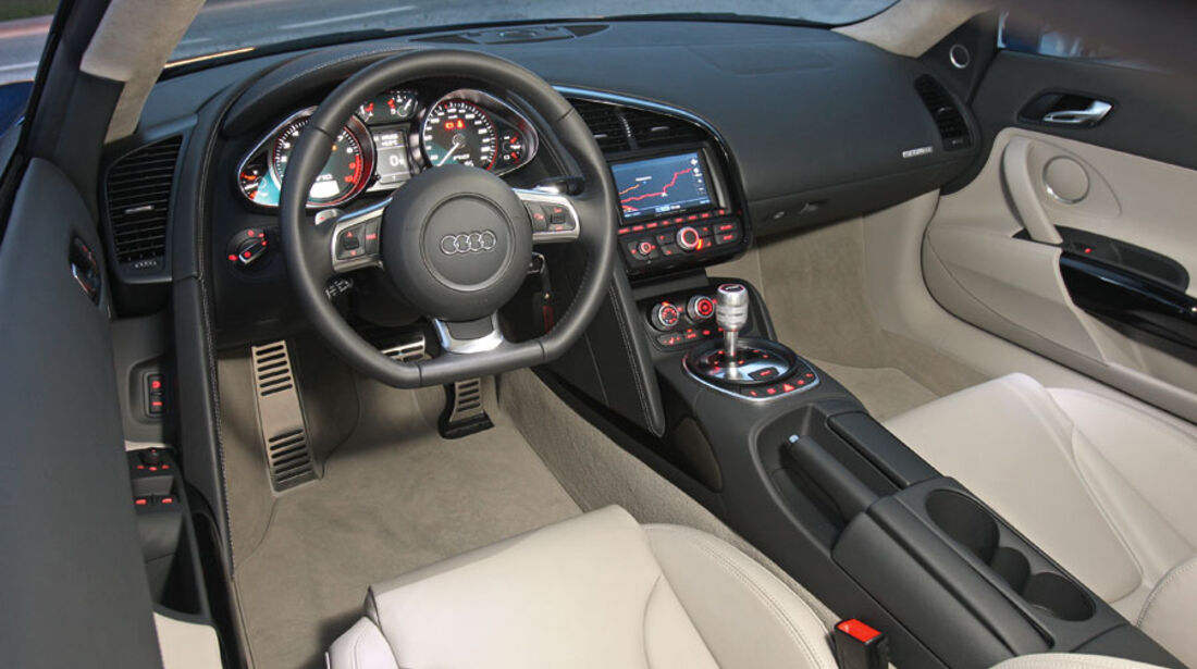Audi E-Tron, Innenraum, Cockpit