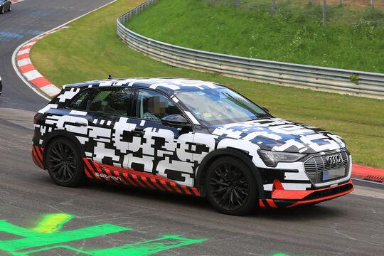Audi E-Tron Quattro Erlkönig
