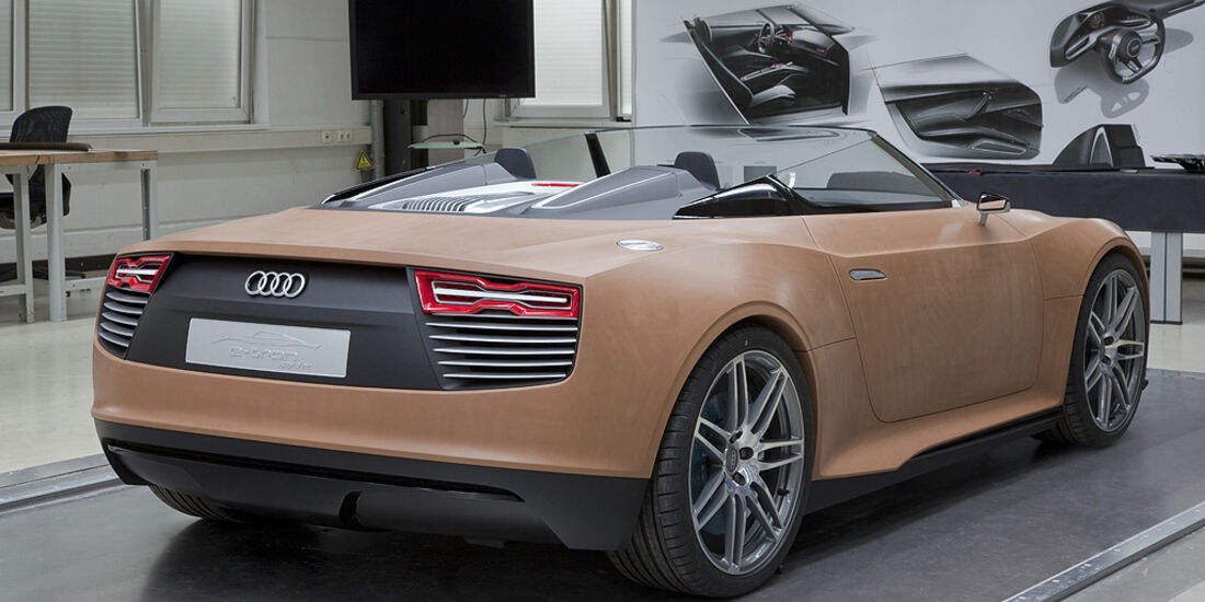Audi E-Tron Spyder, Claymodell