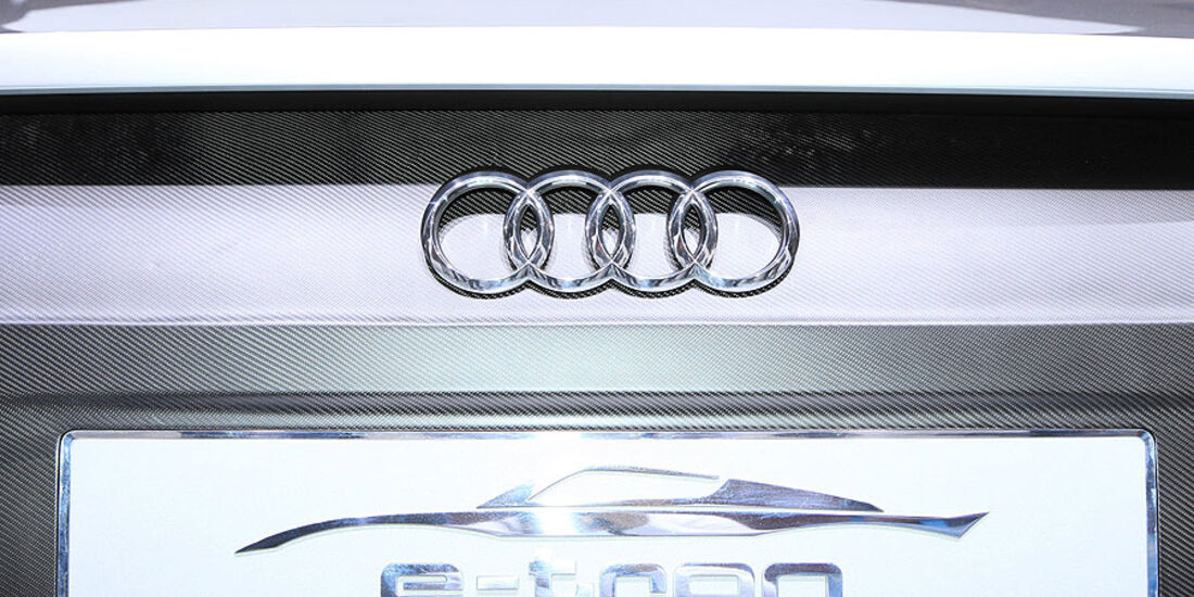Audi Etron Spyder, Detail