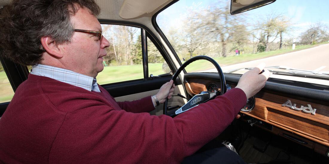Audi L, Cockpit, Alf Cremers