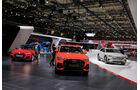 Audi: Messestand Pariser Autosalon 2018