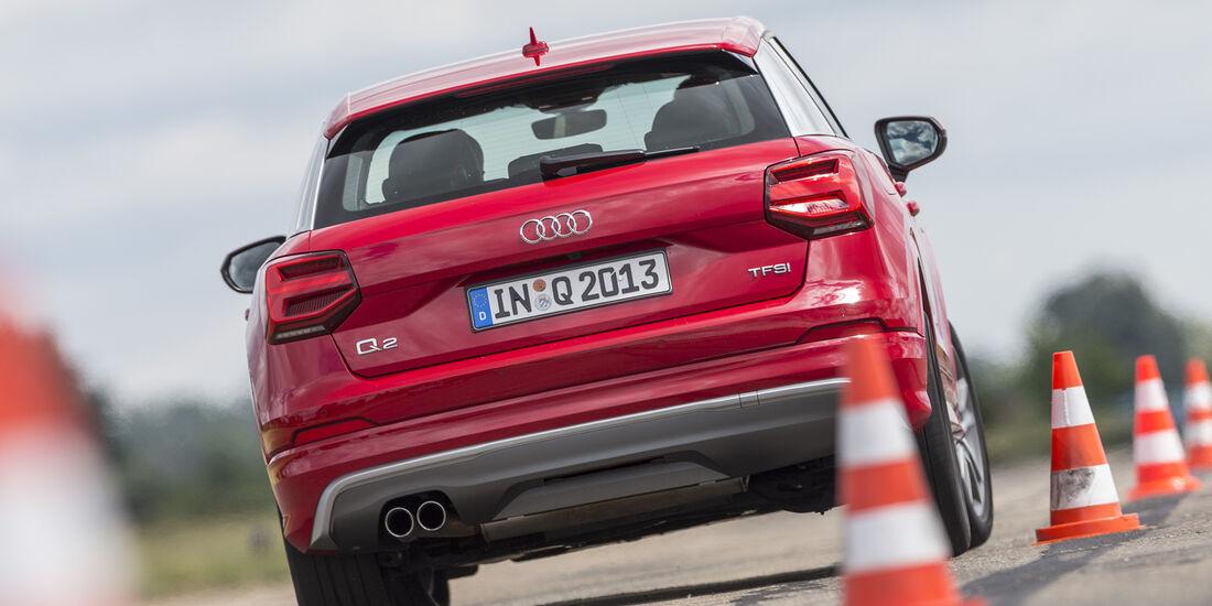 Audi Q2 1.4 TSI (GA), Heck