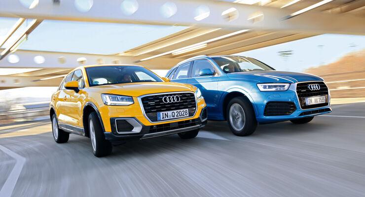 Audi Q2 Oder Q3 Kaufberatung Fur Die Kompakt Suvs Auto Motor Und