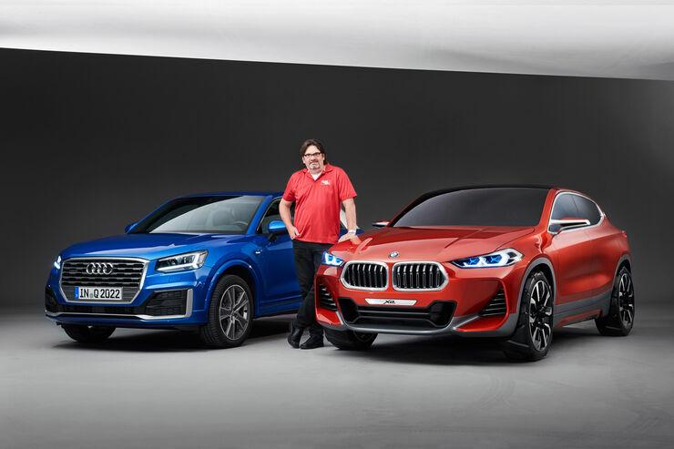 Bmw X2 Und Audi Q2 Im Vergleich Auto Motor Und Sport