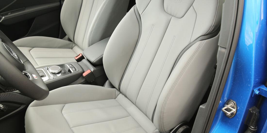 Audi Q2, Fahrersitz