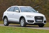 Audi Q3 2.0 TDI, Frontansicht