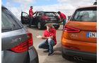 Audi Q3 2.0 TDI Quattro, BMW X1 xDrive 20d Sport Line, Mercedes GLA 220 CDI 4Matic