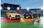 Audi Q3 2.0 TDI Quattro, Mercedes GLA 220 CDI 4Matic,