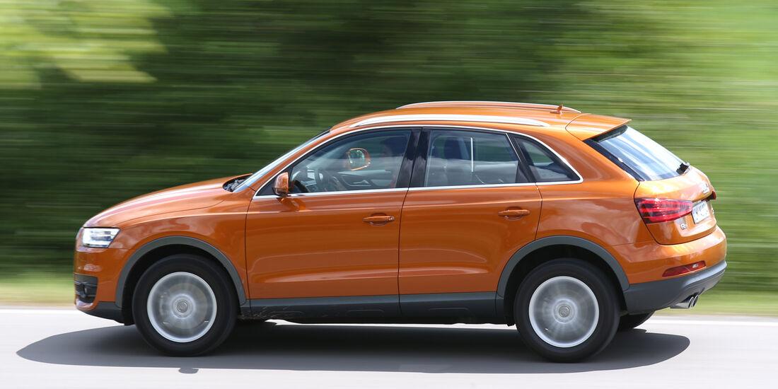 Audi Q3 2.0 TDI Quattro, Seitenansicht