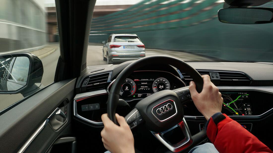 Audi Q3 35 TDI Quattro S line, Interieur