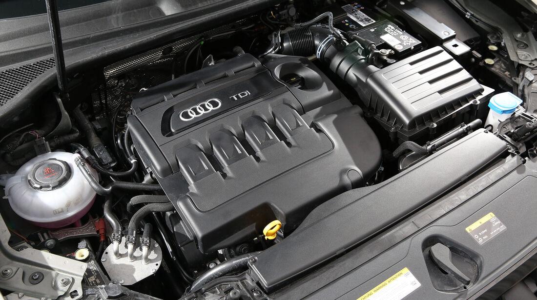 Audi Q3 35 TDI Quattro S line, Motorraum
