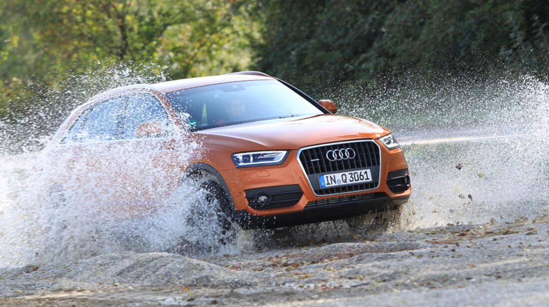 Audi Q3, Gelände