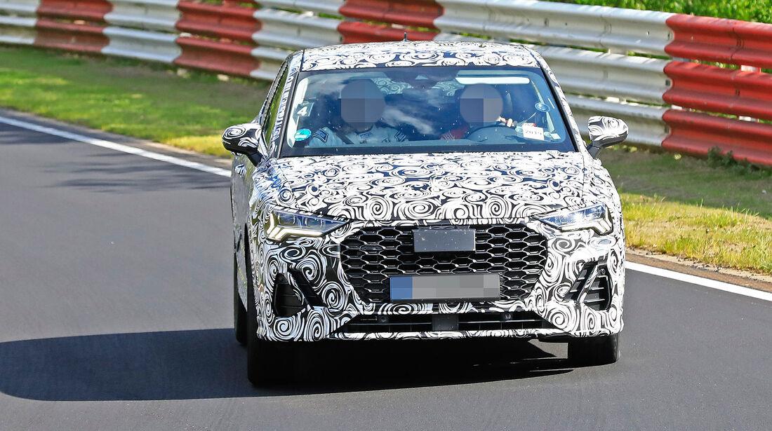 Audi Q3 Sportback Erlkönig