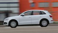 Audi Q5 2.0 TDI, Seitenansicht