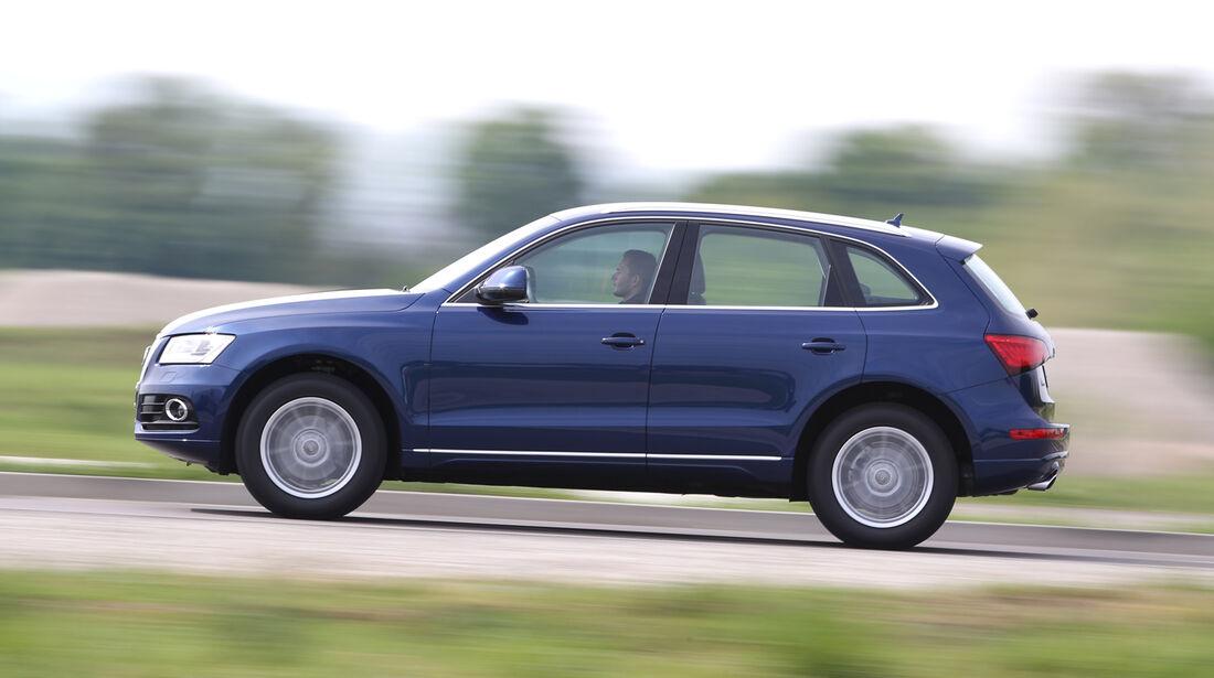 Audi Q5 2.0 TFSI Quattro, Seitenansicht