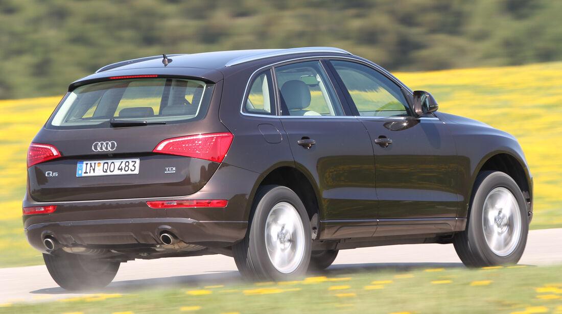 Audi Q5, Heckansicht