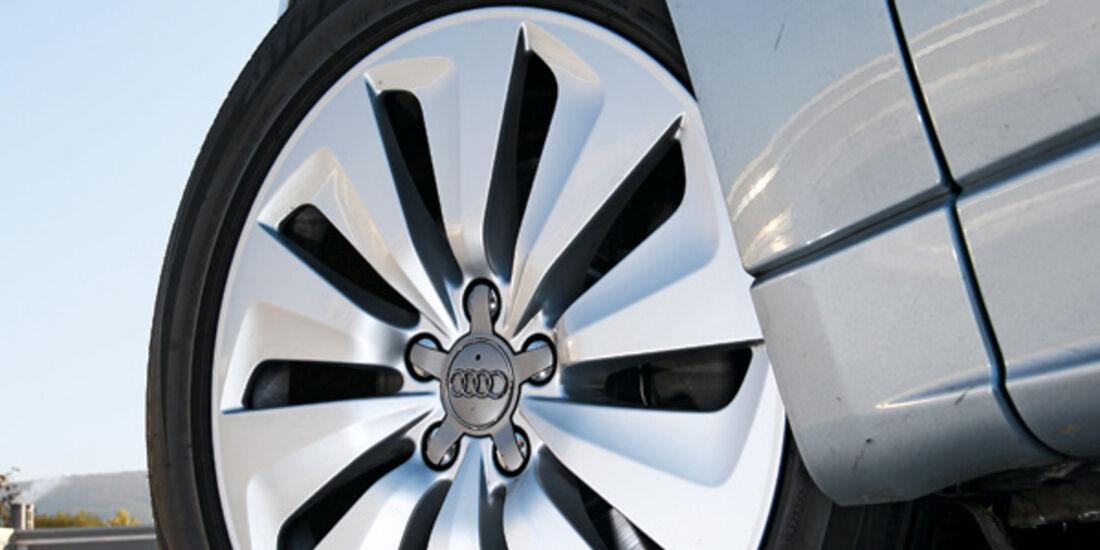 Audi Q5 Hybrid Quattro, Rad
