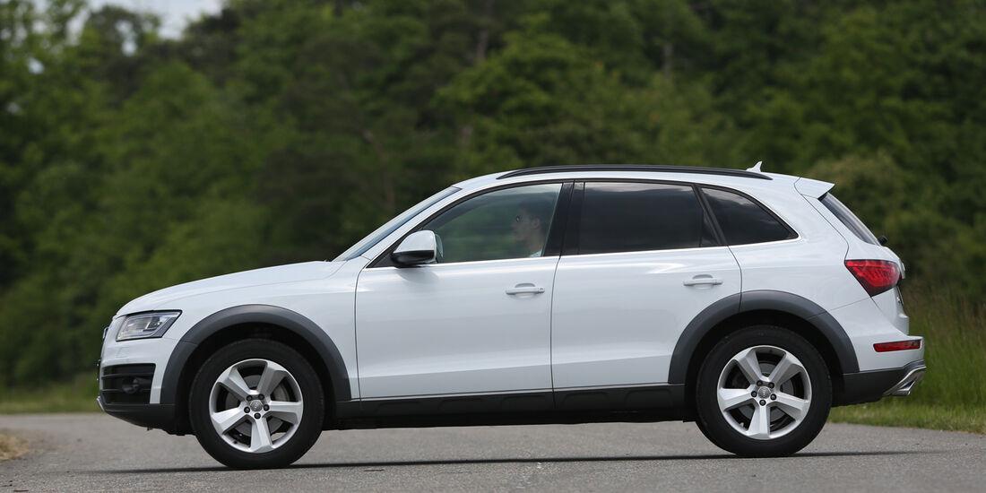 Audi Q5, Seitenansicht
