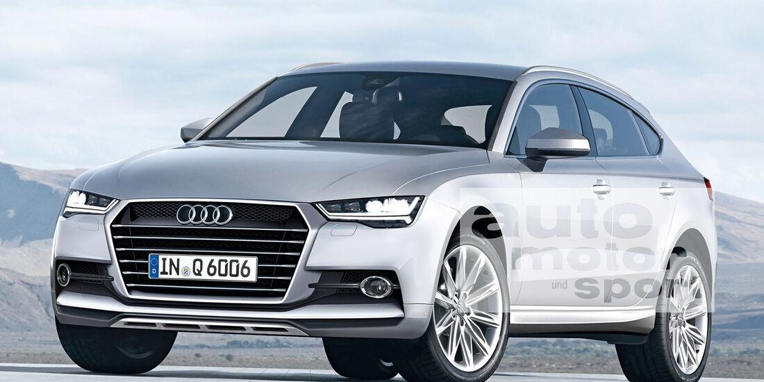 Audi Q6, Frontansicht