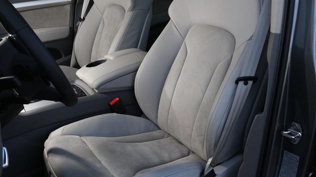Audi Q7 3.0 TDI, Fahrersitz