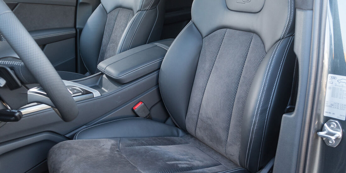 Audi Q7 3.0 TDI Quattro, Fahrersitz
