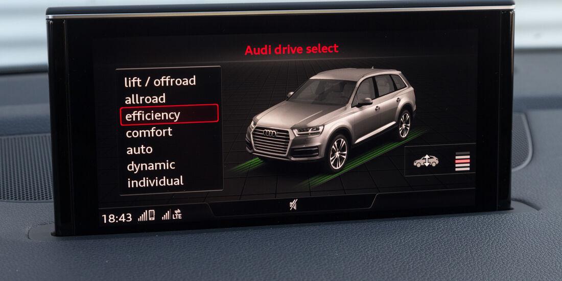 Audi Q7 3.0 TDI Quattro, Infotainment, Monitor