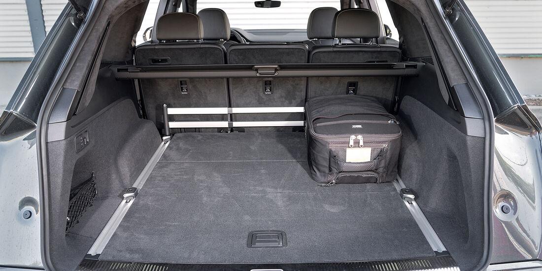 Audi Q7 3.0 TDI Quattro, Kofferraum