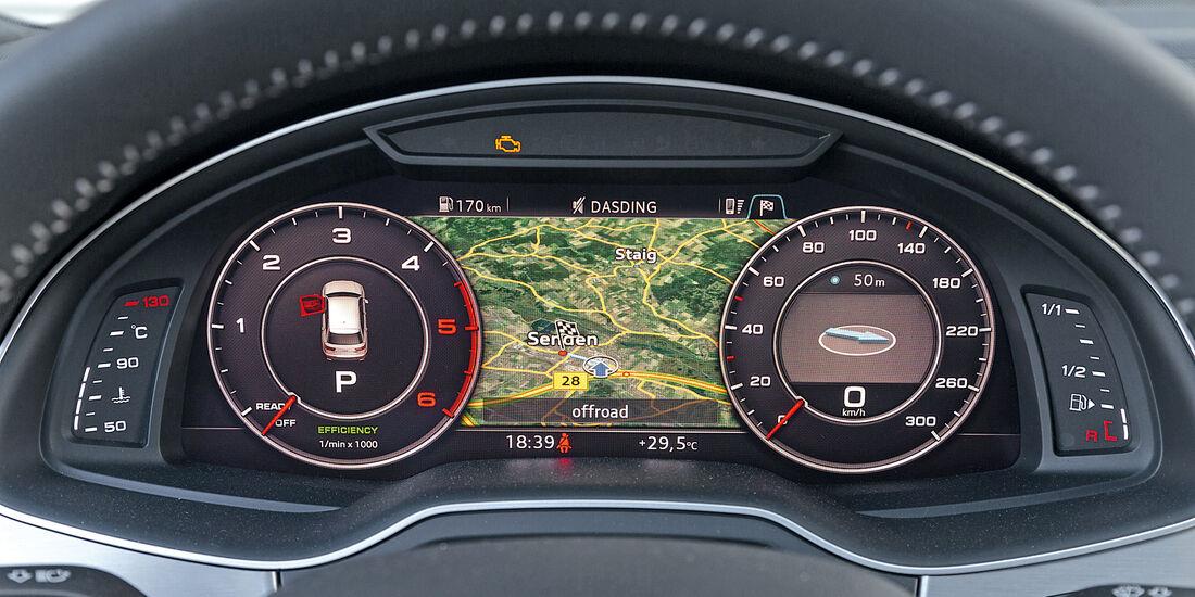 Audi Q7 3.0 TDI Quattro, Navi
