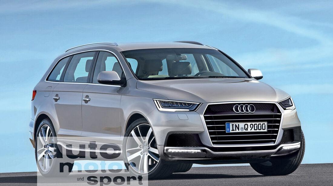 Audi Q9, Frontansicht