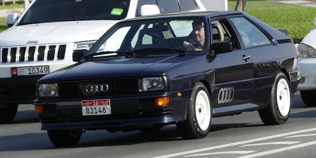 Audi Quattro - Carspotting - GP Abu Dhabi 2016