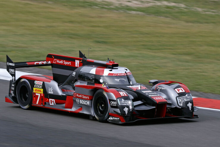 Audi R18 - Startnummer #7 - FIA WEC - Nürburgring 2016